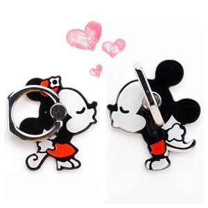Mickey & Minnie Mouse Cell Phone Ring & Kickstand